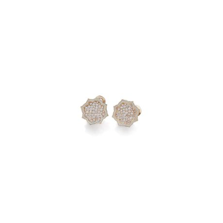 Flor de Vis white enamel diamonds